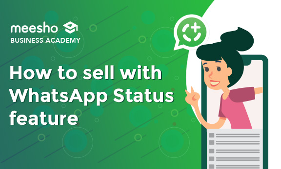 How to sell using WhatsApp Status feature