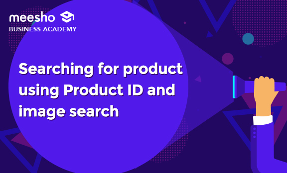 Searching For a Product using Product ID and image search