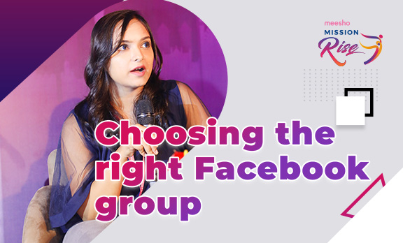 Choosing the right Facebook group!