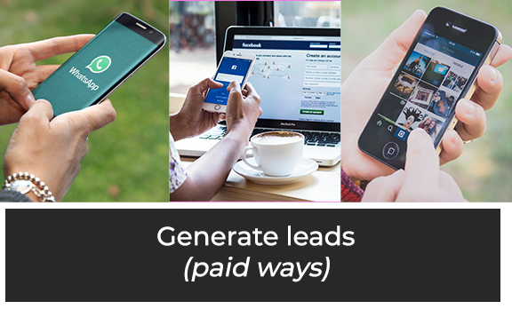 Generate Leads (paid ways)