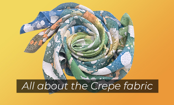 All about the Crepe fabric