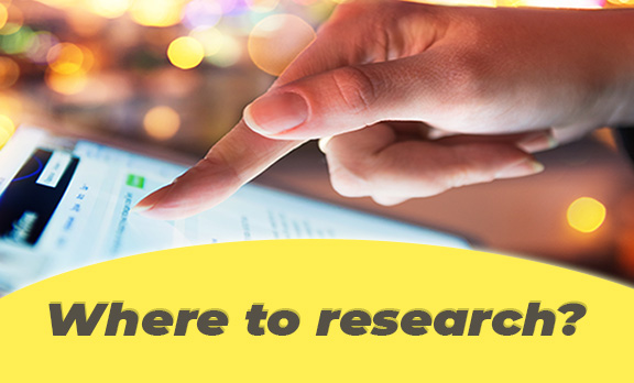 Where to research?