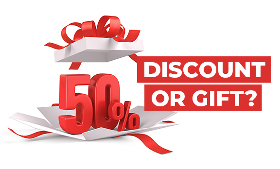 Discount or Gift