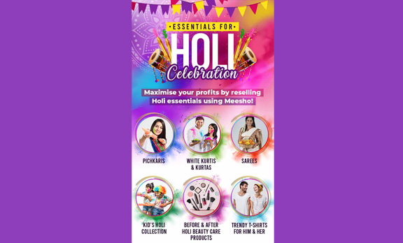 Essentials for Holi Celebration