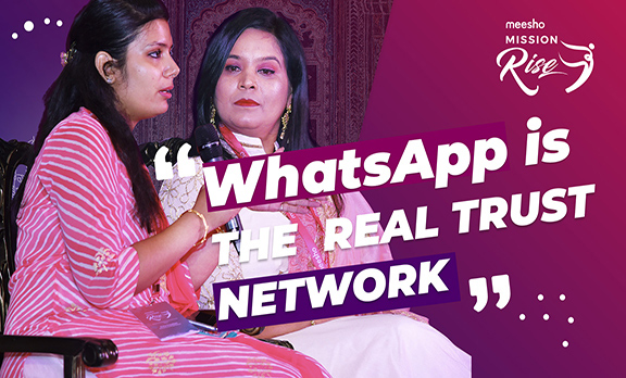 WhatsApp is the real trusted network!