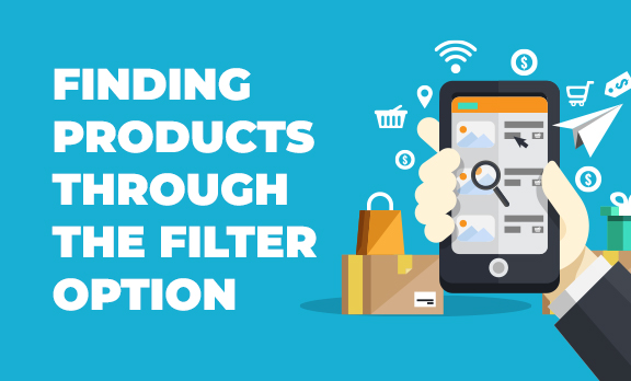 Using filter to find products