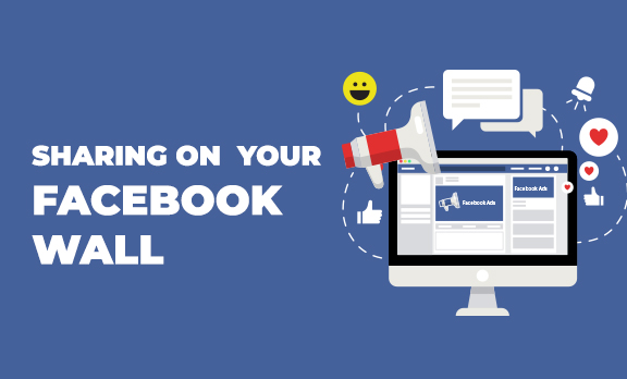 How to share on Facebook wall?