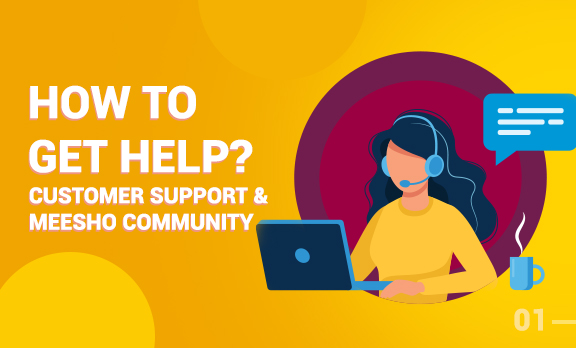 How to get help on Meesho?